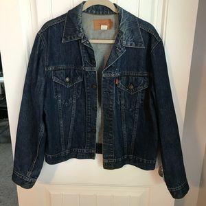 Levi's vintage trucker 90's jacket red tab size 42